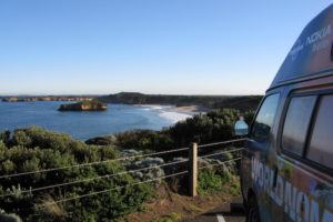 Great Ocean Road with World Nomads campervan