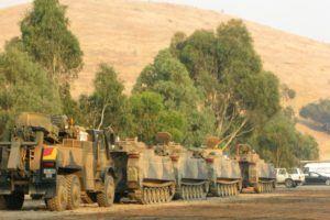 tanks in Australia, for the Victoria bush fire diary