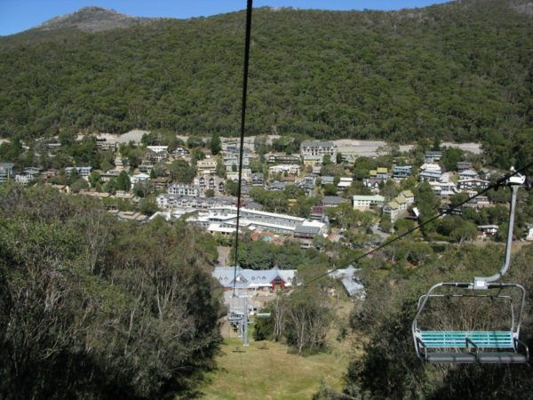Chairlift from Thredbo up Kozzy