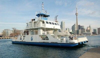 world's shortest ferry ride in Toronto