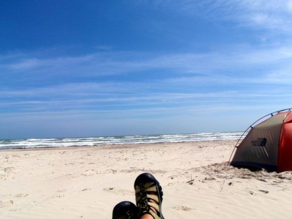 camping on padre island_1
