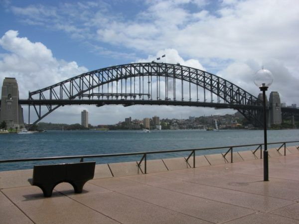 observations from Sydney - looking at the Sydney bridge