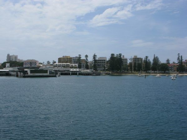 Manly harbour from the water