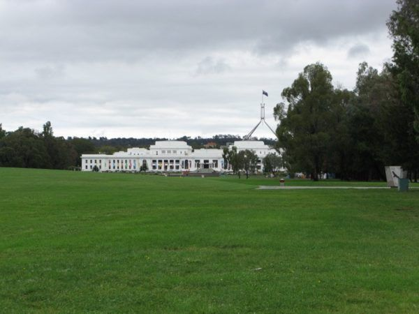 Capital building in Canberra