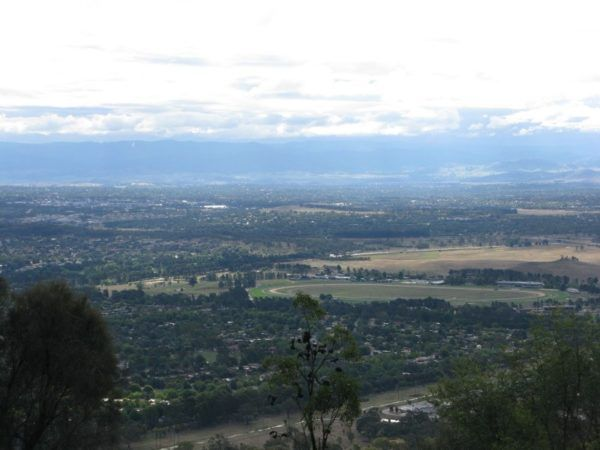 Canberra Australia from above