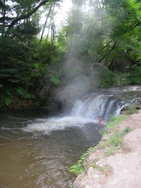 kerosene creek in New Zealand