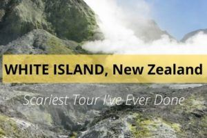 White Island New Zealand - scariest tour I've ever Done
