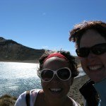 making friends on the Tongariro Crossing