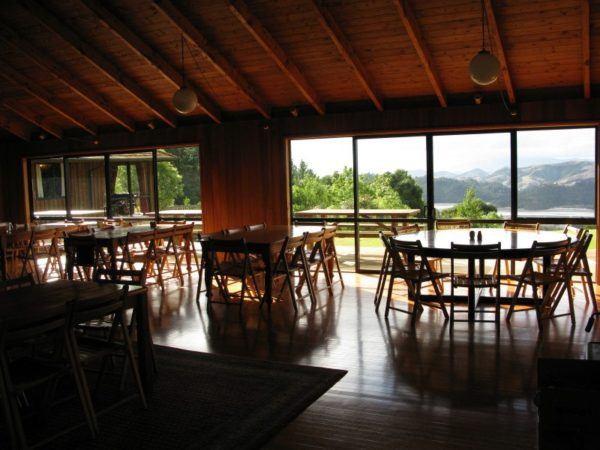 Mana Retreat Centre dining room
