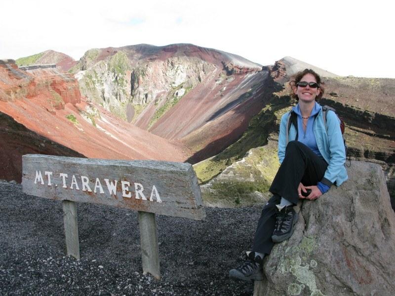 Crater Walking on Mount Tarawera, New Zealand