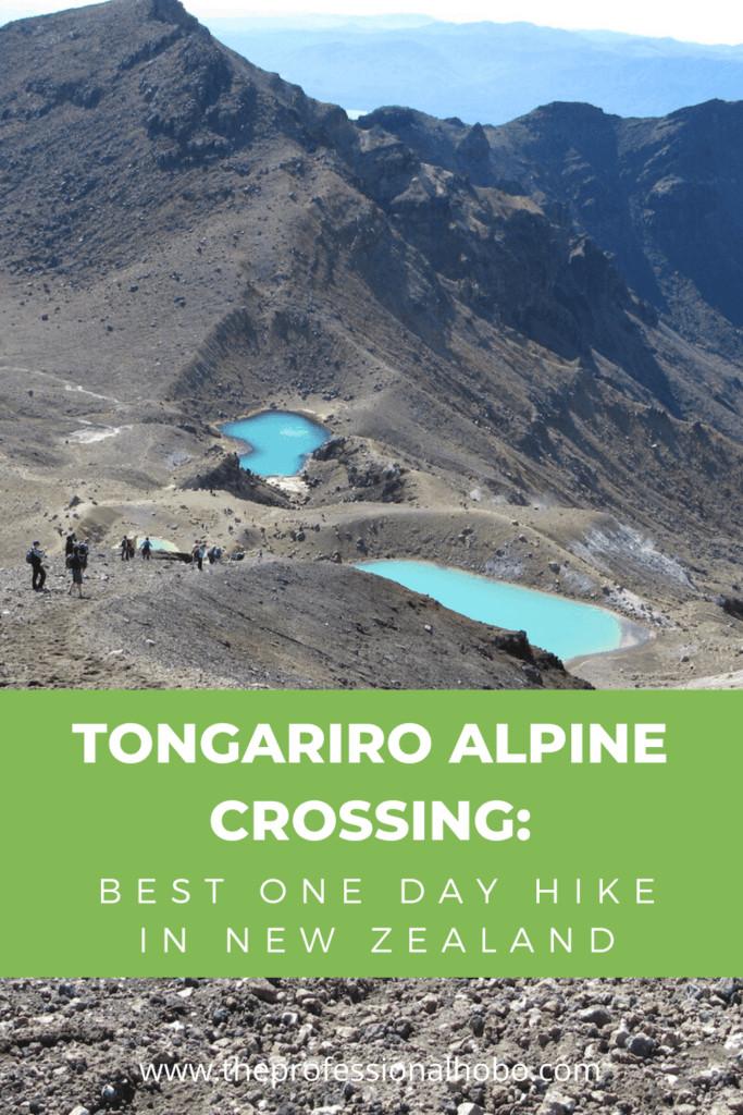 Here's why the Tongariro Alpine Crossing is New Zealand's best day hike, what it's like, and tips for doing it. #NewZealand #Taupo #TongariroCrossing #TongariroAlpineCrossing #MountDoom #Mordor #TheProfessionalHobo #NoraDunn #traveltips