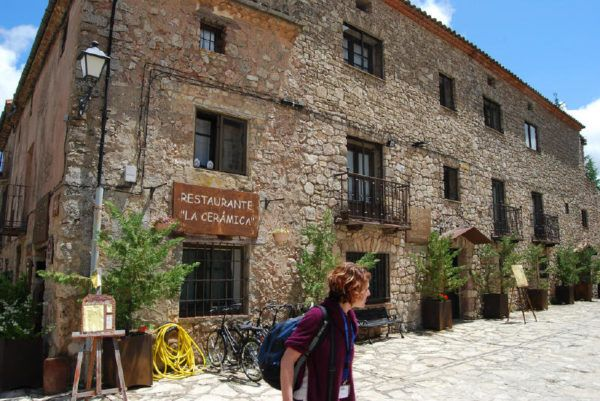 our lunch stop in small-town Spain