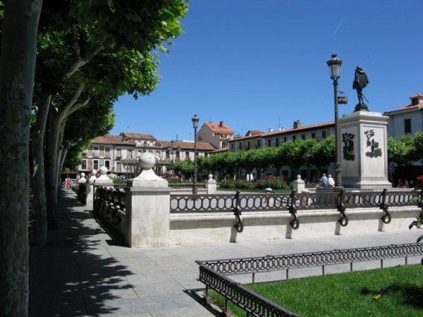 Alcala's historical district
