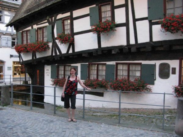 the tilted house in Ulm