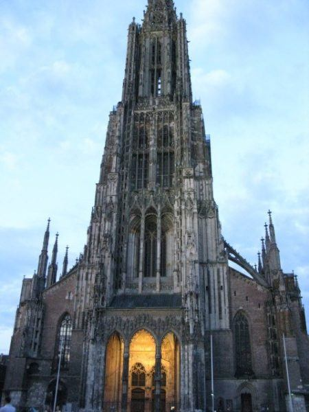 Munster cathedral in Ulm Germany