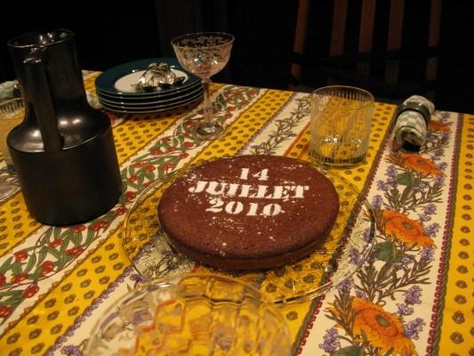 Bastille day dessert