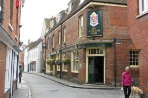 An English pub, part of English culture