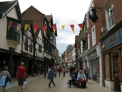 the streets of Winchester