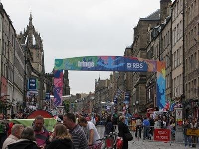 Fringe vibe at Edinburgh Fringe Festival