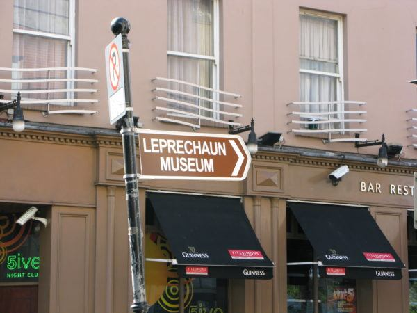 leprechaun museum, Dublin, Ireland