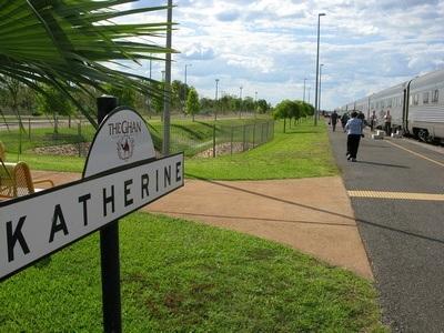 Katherine Australia train station