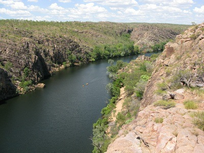 Katherine Gorge as seen from above