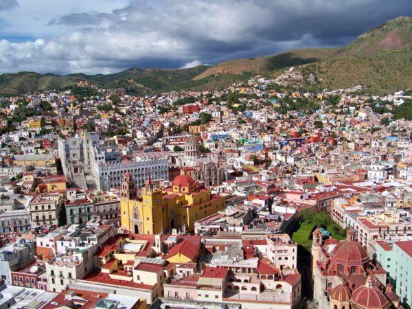 Guanajuato - city pano