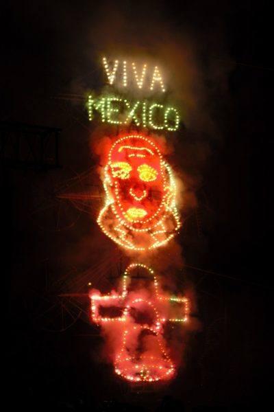 viva mexico fireworks