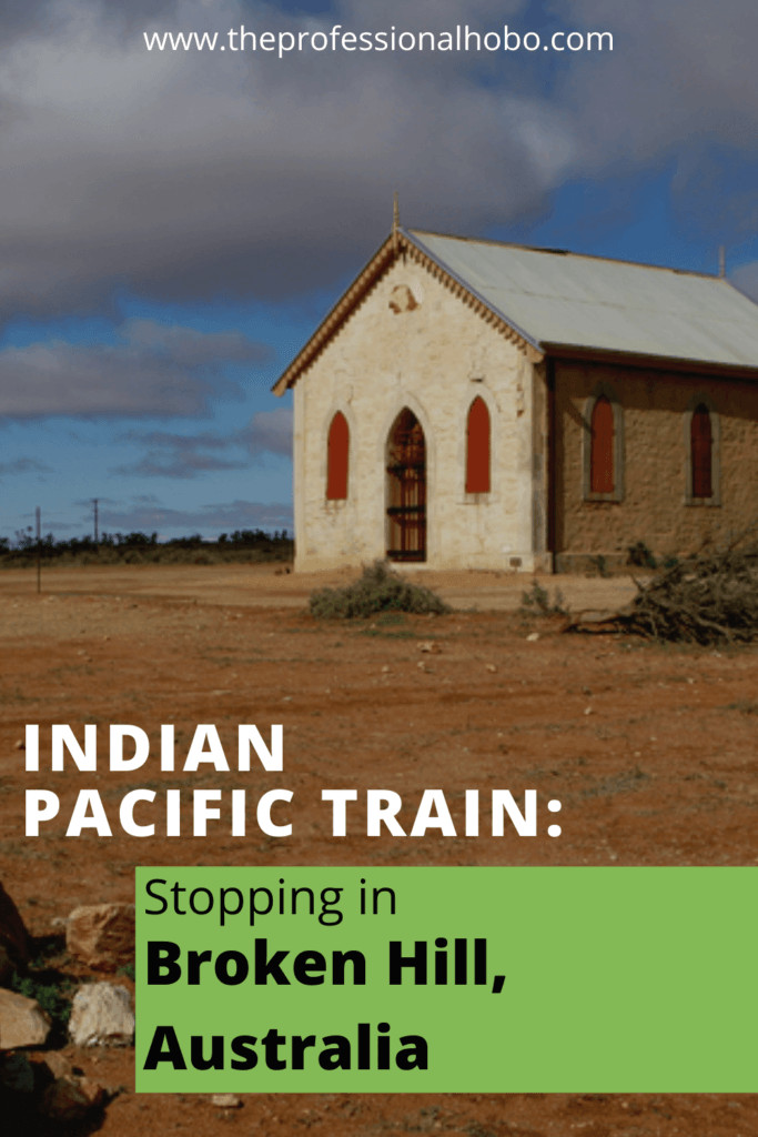 Here's what it's like to take the Indian Pacific Train across Australia. Today, we stop in Broken Hill! #traintravel #IndianPacific #Australia #TheProfessionalHobo