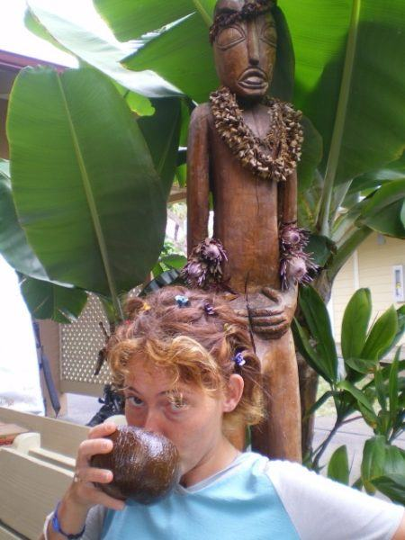 drinking kava