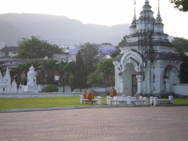 Buddhist monastery in Chiang Mai Thailand