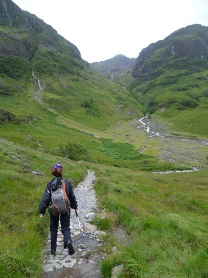 Hiking in the Highlands of Scotland