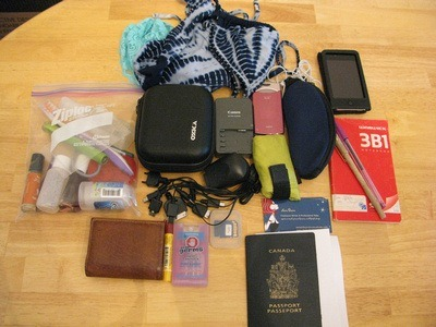 Preparing for the No Baggage Challenge