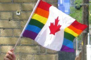 Toronto Pride Parade Canada Flag