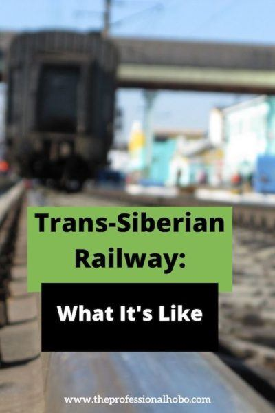 Here's what the Trans-Siberian Railway is like in this day-by-day breakdown! #traintravel #TransSiberian #TransManchurian #travelbytrain #TheProfessionalHobo #Moscow #Beijing