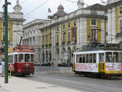 Lisbon Portugal, where the Ultimate Train Challenge started, 29 trains in 30 days
