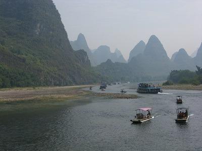 Guilin river tour