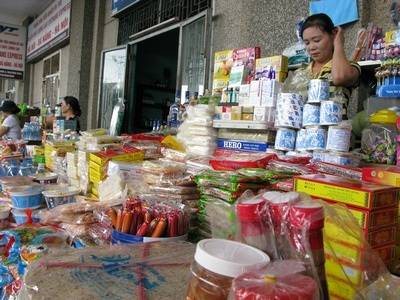 stuff for sale at the station