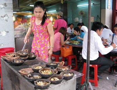 fish in clay pots
