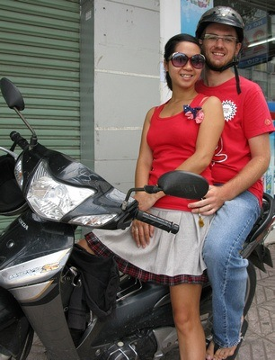 Chad & Thuy of BackoftheBike Tours in Vietnam
