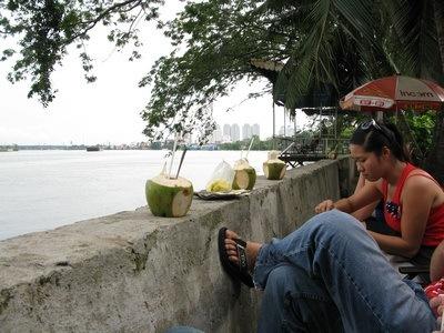 Saigon river spot