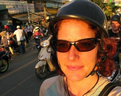 Back of the Bike in Saigon