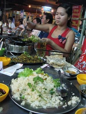 dinner - a feast