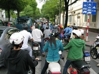 more Saigon traffic