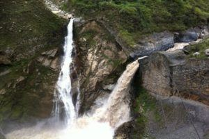 waterfalls in Banos