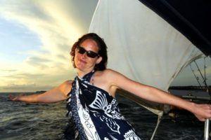 Nora sailing