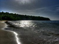 the next beach in Grenada, where I'm learning to be alone