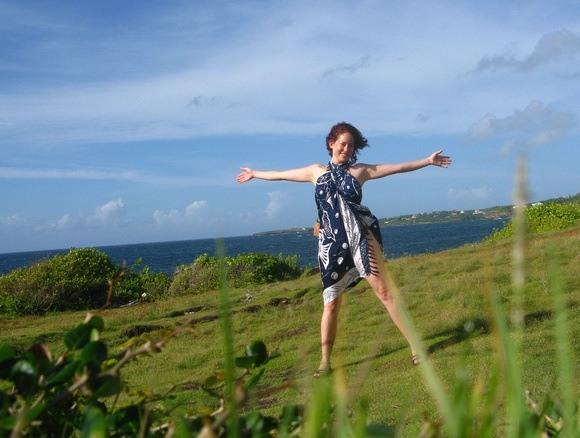 A windy day in Grenada