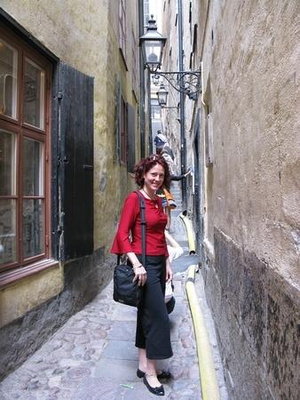 Nora Dunn in Sweden