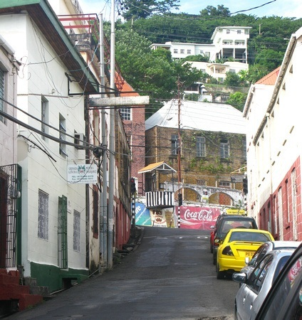 Driving in Grenada's capital of St George's can be difficult at first